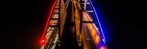 На Крымском мосту уменьшили скорость движения из-за холодов