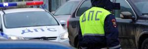 В Москве два автомобиля столкнулись с эвакуатором на МКАД