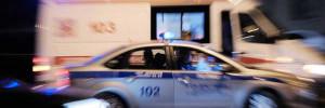 Машина скорой помощи перевернулась в ДТП на юге Москвы