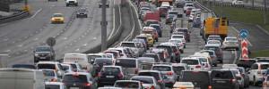 На дорогах Москвы стало на 30 тысяч больше автомобилей, чем неделю назад