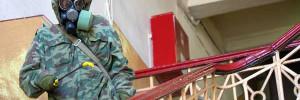 Специалисты продезинфицируют машины заразившихся коронавирусом депутатов