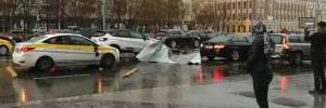 ЦОДД призывает москвичей к осторожности из-за сильного ветра