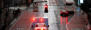 В Нью-Йорке закрыли часть дорог, чтобы жители могли соблюдать дистанцию на прогулках