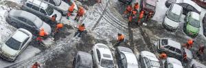 В проект нового КоАП внесли штраф за брошенные машины во дворах