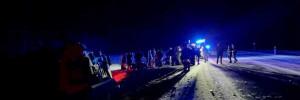 На Кубани семь человек пострадали в ДТП с полицейским