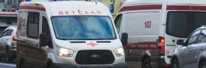 В Петербурге машина сбила четверых детей и двух взрослых