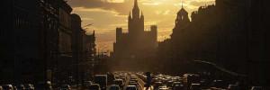 Московские пробки достигли 9 баллов из-за подготовки к параду