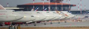 В Шереметьево топливозаправочная машина столкнулась с самолетом