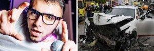 В крови виновного в ДТП на Осторженке рэпера Гулиева нашли следы наркотиков