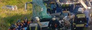 Калининградские власти уточнили число погибших в ДТП с автобусом