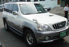 Автомобиль HYUNDAI TERRACAN 2002