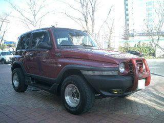 Автомобиль SSANGYONG KARANDO - 2001 г