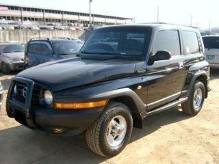 Автомобиль SSANGYONG KARANDO 2001 г